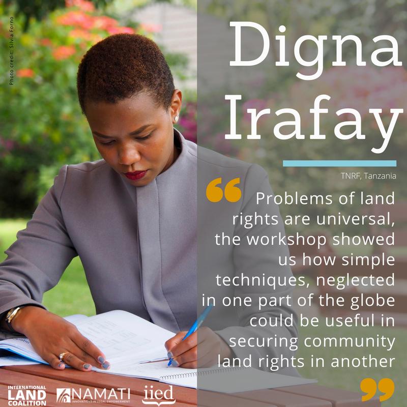 Digna Irafay from Tanzania Natural Resource Forum
